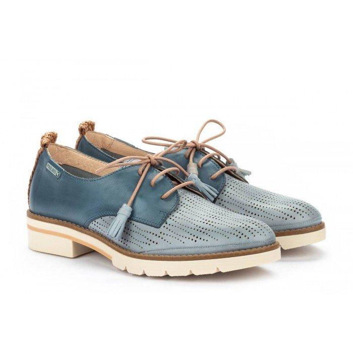 Zapatos Mujer Pikolinos Sitges W7J-4846C1 Azul Denim