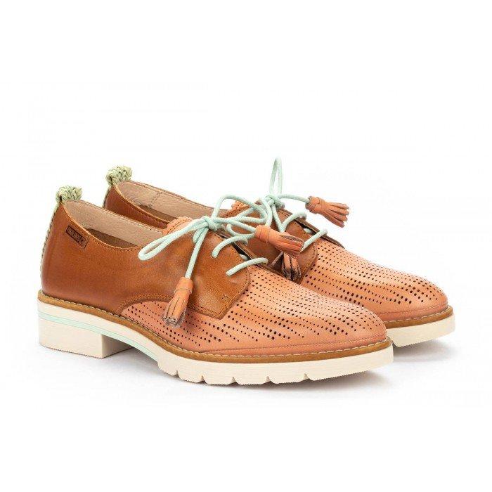 Zapatos Mujer Pikolinos Sitges W7J-4846C1 Cuero Blush