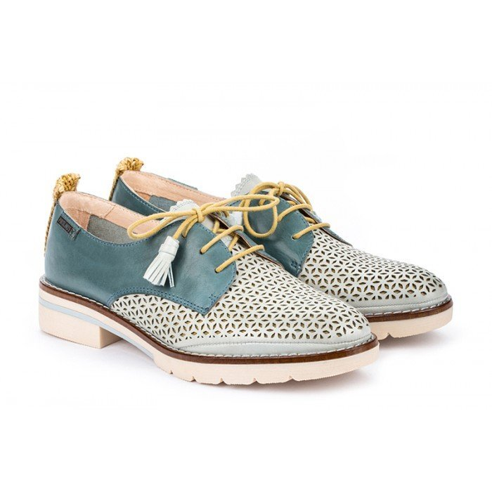 Zapatos Mujer Pikolinos Sitges W7J-4793C1 Azul Aqua
