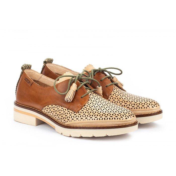 Zapatos Mujer Pikolinos Sitges W7J-4793C1 Cuero Bamboo