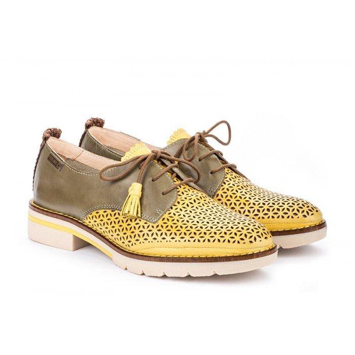 Zapatos Mujer Pikolinos Sitges W7J-4793C1 Amarillo Sol