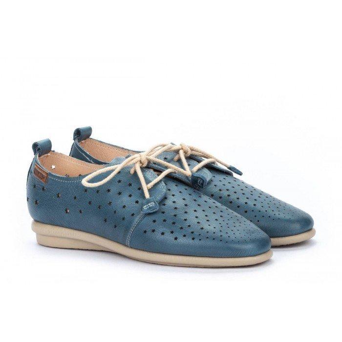 Zapatos Mujer Pikolinos Calabria W9K-4938 Azul Sapphire