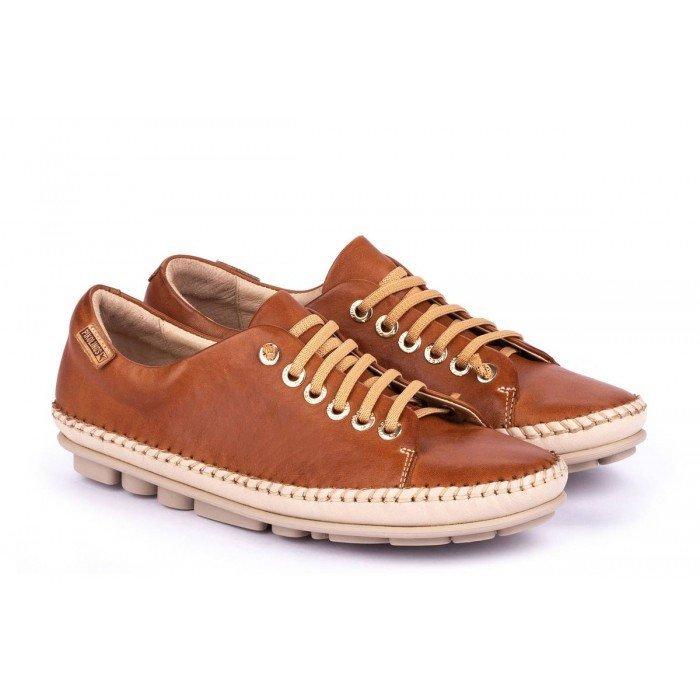 Zapatos Mujer Pikolinos Riola W3Y-4925C1 Cuero Brandy