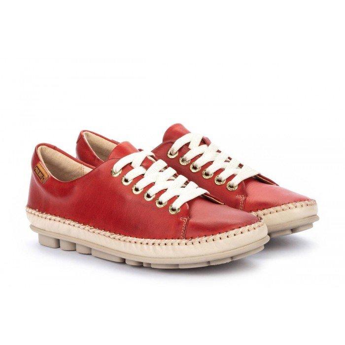 Zapatos Mujer Pikolinos Riola W3Y-4925C1 Rojo Coral