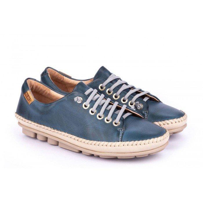 Zapatos Mujer Pikolinos Riola W3Y-4925C1 Azul Sapphire