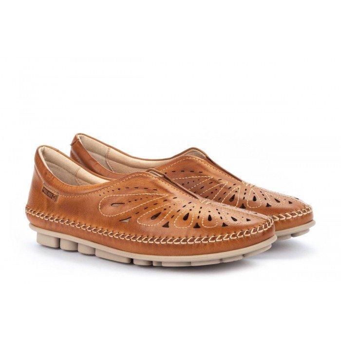 Zapatos Mujer Pikolinos Riola W3Y-4922 Cuero Brandy