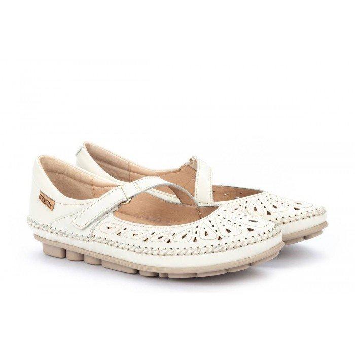 Zapatos Mujer Pikolinos Riola W3Y-2561 Blanco Nata