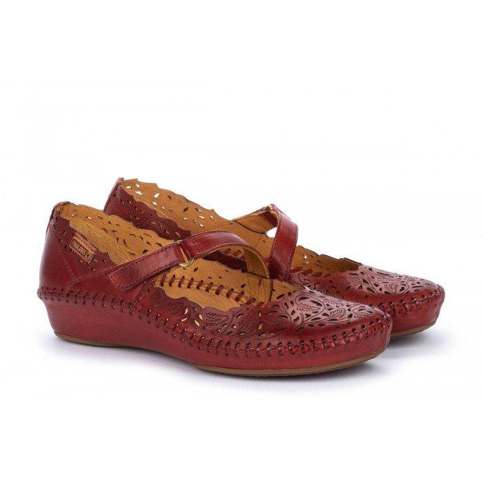 Zapatos Mujer Pikolinos P.Vallarta 655-0898 Rojo Sandía