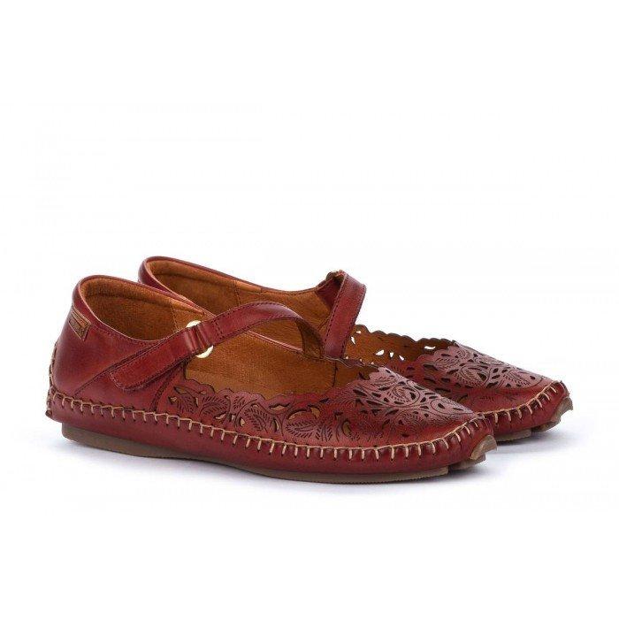 Zapatos Mujer Pikolinos Jerez 578-4974 Rojo Sandía