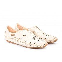 Zapatos Mujer Pikolinos Jerez 578-7399 Blanco Marfil