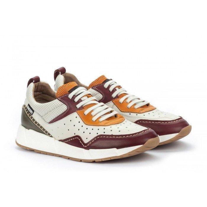 Zapatos deportivos Hombre Pikolinos Meliana M6P-6309C1 Burdeos Garnet