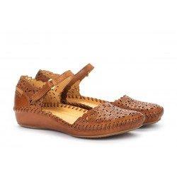 Zapatos Mujer Pikolinos P.Vallarta 655-0906 Cuero Brandy