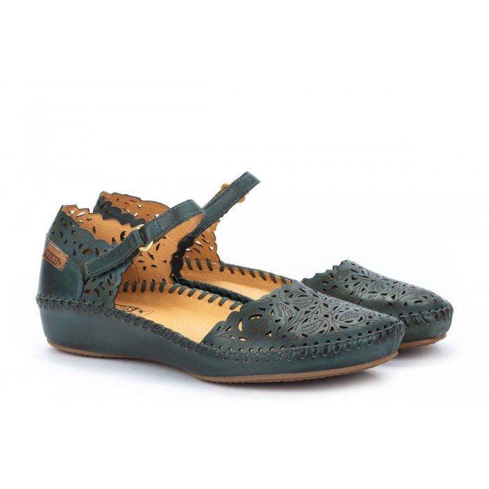 Zapatos Mujer Pikolinos P.Vallarta 655-0906 Azul Emerald