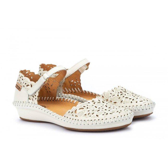 Zapatos Mujer Pikolinos P.Vallarta 655-0906 Blanco Nata