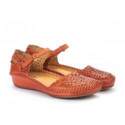 Zapatos Mujer Pikolinos P.Vallarta 655-0906 Naranja Scarlet