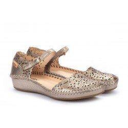 Zapatos Mujer Pikolinos P.Vallarta 655-0906CL Gris Stone