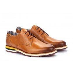 Zapatos Hombre Pikolinos Arona M5R-4343 Cuero Brandy