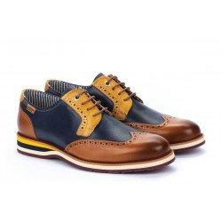 Zapatos Hombre Pikolinos Arona M5R-4373C1 Cuero Brandy
