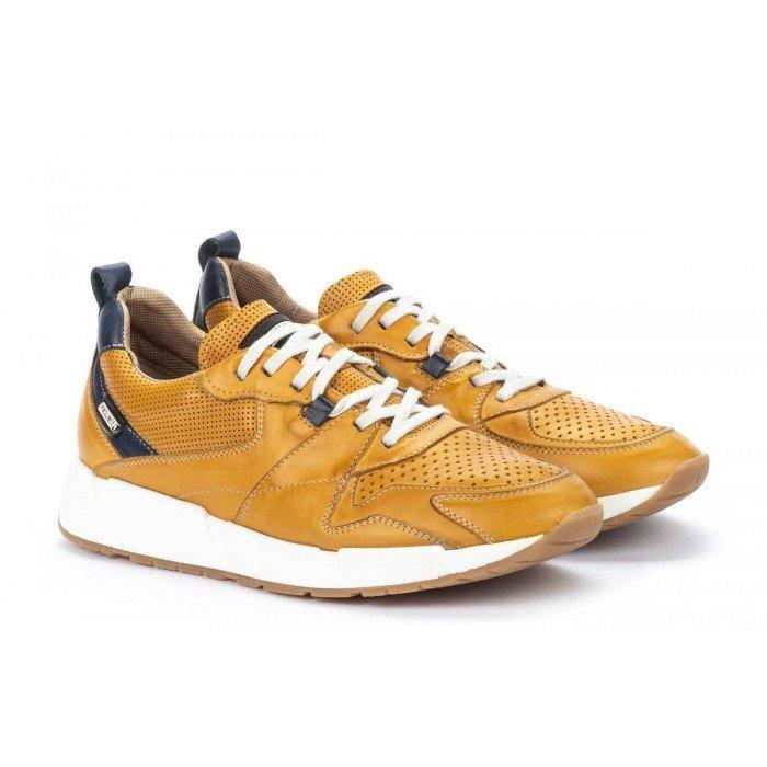 Zapatos Hombre Pikolinos Meliana M6P-6322 Amarillo Honey