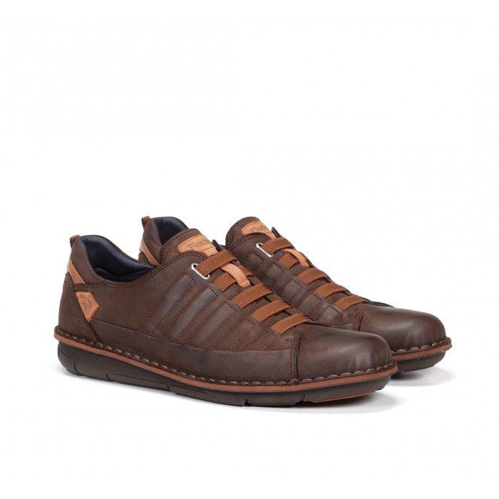 Zapatos Hombre Fluchos Alfa F0703 Marrón Castaño