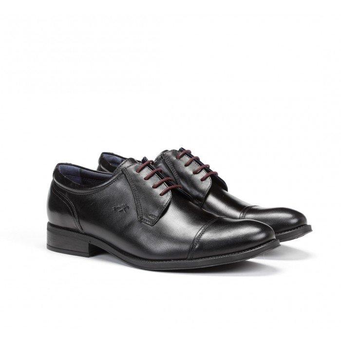Zapatos Vestir Hombre Fluchos Heracles 8412 Negro