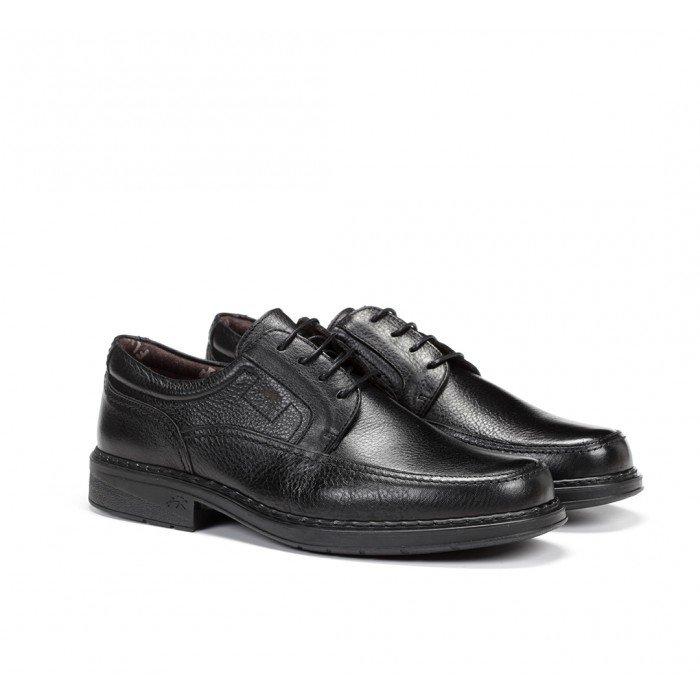 Zapatos Hombre Cordones Fluchos Clipper 9579 Negro