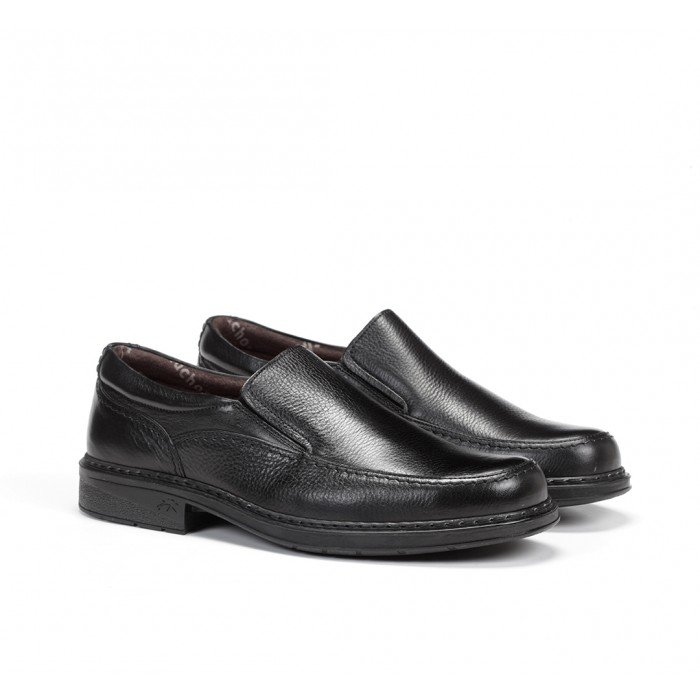 Zapatos Mocasines Hombre Fluchos Clipper 9578 Negro