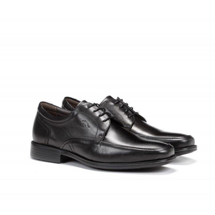 Zapatos Vestir Hombre Fluchos Rafael 7995 Negro