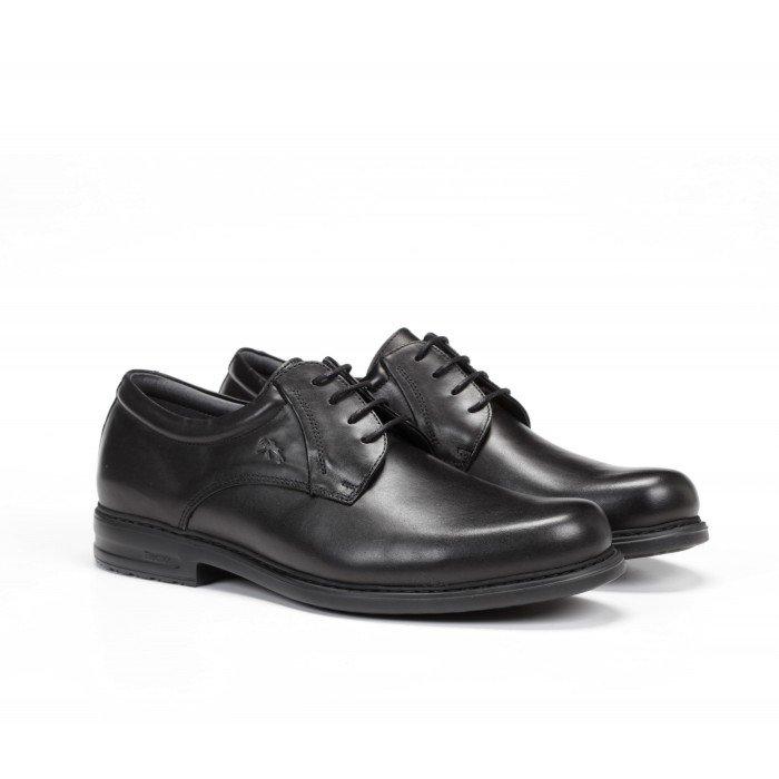 Zapatos Hombre Fluchos Simon 8466 Negro