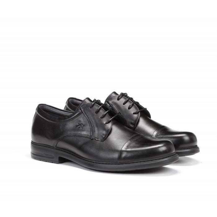 Zapatos Vestir Hombre Fluchos Simon 8468 Negro