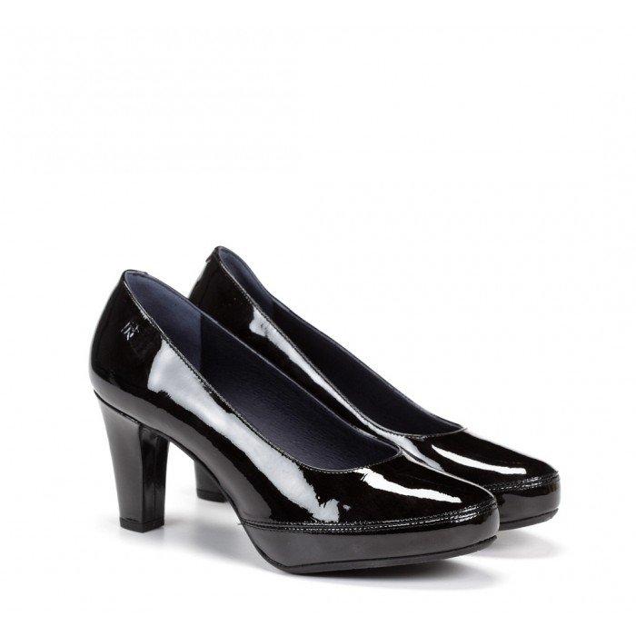 Zapatos Mujer Salón Dorking Blesa D5794 Gloss Negro