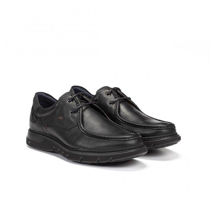Zapatos Hombre Fluchos Celtic 9595 Negro