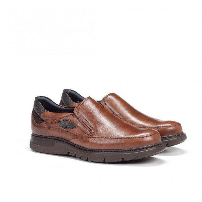 Zapatos Mocasines Hombre Fluchos Celtic F0249 Cuero Líbano