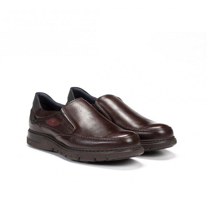 Zapatos Mocasines Hombre Fluchos Celtic F0249 Marrón Líbano