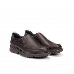 Zapatos Hombre Fluchos Celtic F0249 Gras Marrón Libano