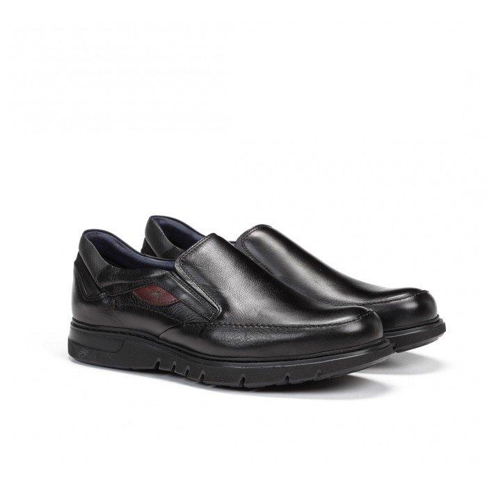 Zapatos Mocasines Hombre Fluchos Celtic F0249 Negro