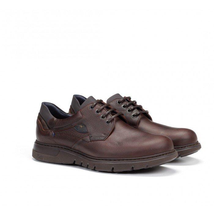 Zapatos Hombre Fluchos Celtic F0247 Marrón Líbano