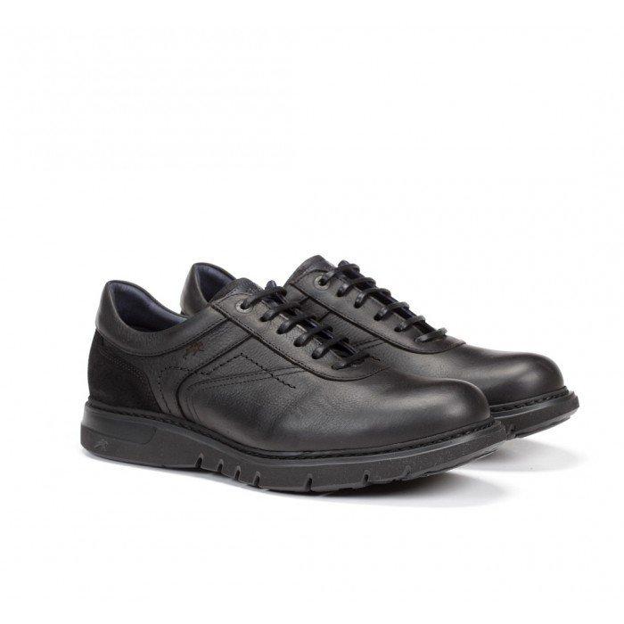Zapatos Hombre Fluchos Celtic F0616  Negro