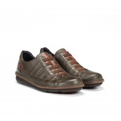 Zapatos Hombre Fluchos Alfa F0703 Verde Kaki