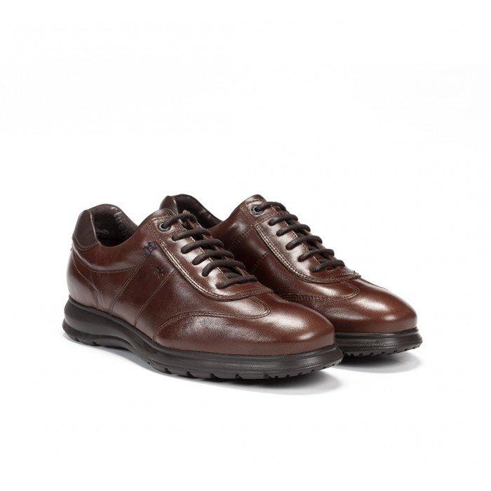 Zapatos Hombre Fluchos Zeta F0607 Marrón Café