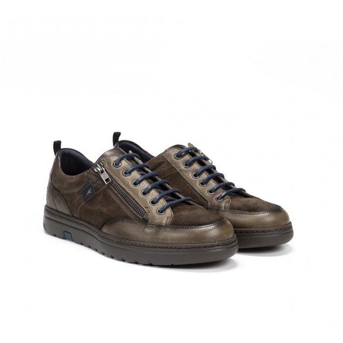 Zapatos Hombre Fluchos Atlas F0292 Verde Kaki