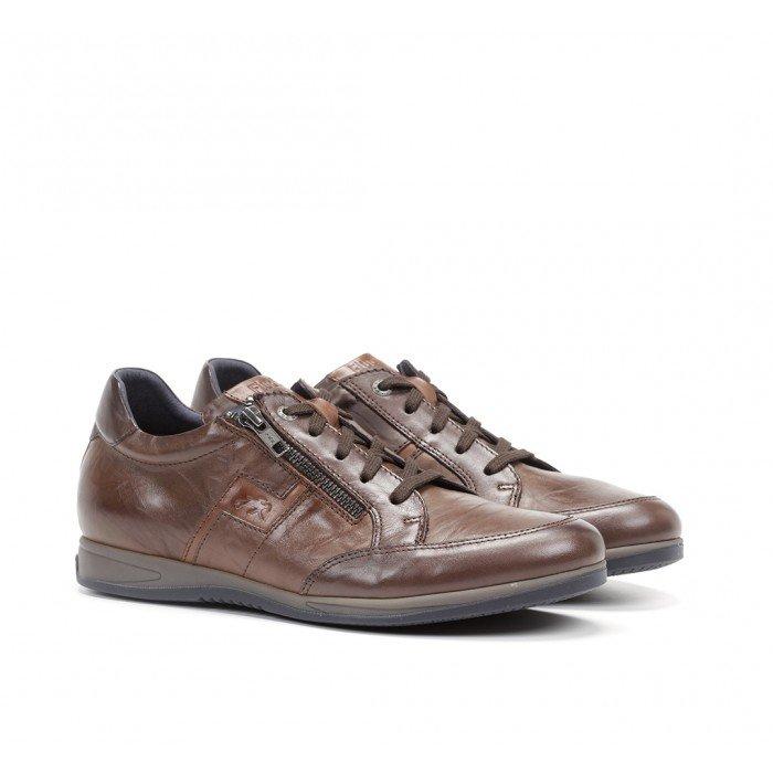 Zapatos Hombre Fluchos Daniel F0210 Marrón Castaño