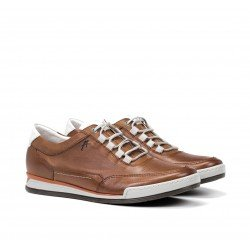 Zapatos Hombre Fluchos Etna F0146 Pl. Cuero