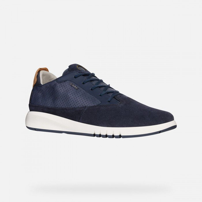 Zapatos Deportivos Hombre Geox Aerantis Azul