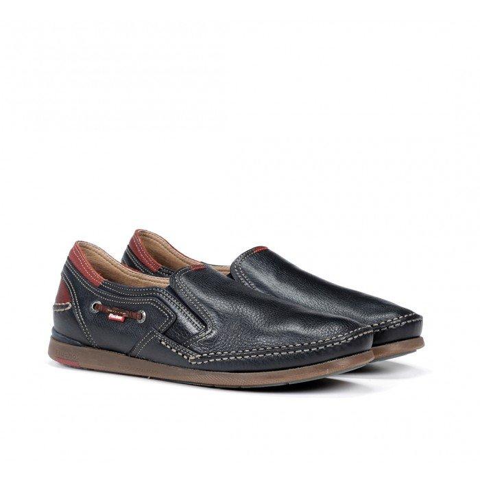Zapatos Hombre Fluchos Mariner 9883 Azul Marino