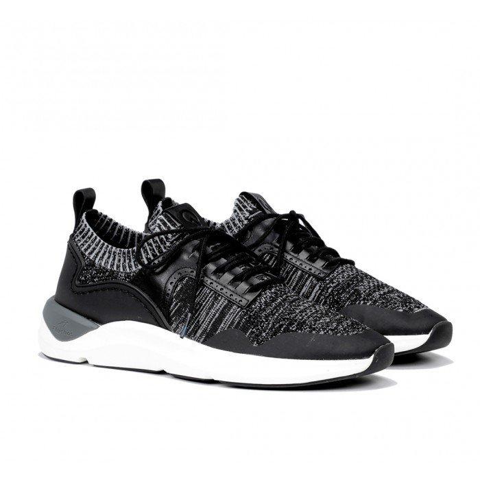 Zapatos Deportivos Hombre Fluchos Atom F0872 Negro