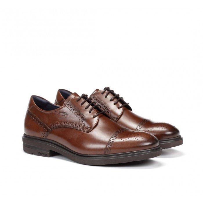 Zapatos Hombre Fluchos Cíclope F0629 Camel