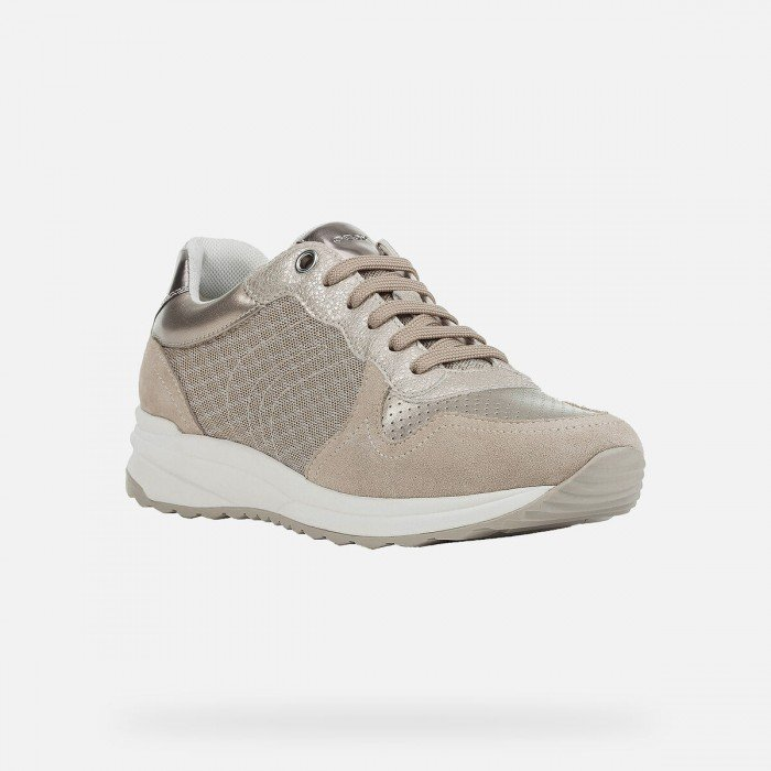 Deportivas Mujer Geox D Airell A Taupe