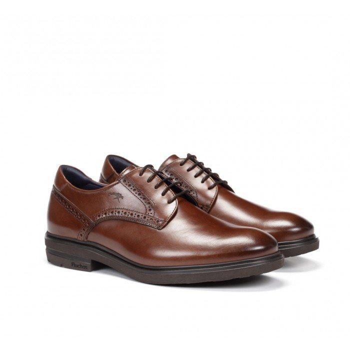 Zapatos Hombre Fluchos Belgas F0630 Marrón Castaño