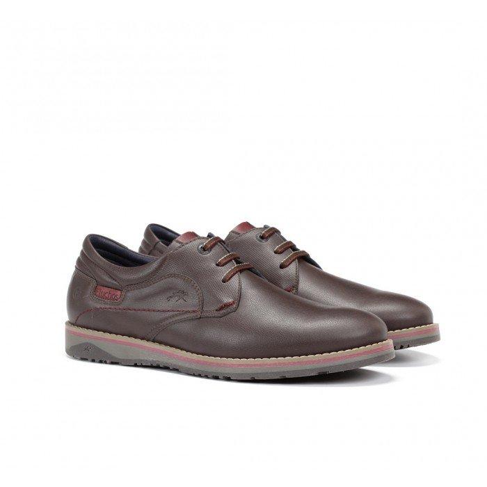 Zapatos Hombre Fluchos Brad 9234 Marrón Vegan Castaño